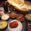 シリジャナ - 料理写真:レディースセット(マトンマサラ、カダーイ野菜)