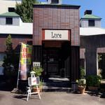 cafe Luce - お店の入り口