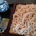 霧下そば安田屋おおいし - 料理写真:手打ちせいろ 大盛り 980円