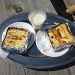 42647479 - チーズトースト!