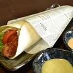 笹島大陸 - 料理写真:ささみDEタコス