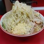 ラーメン二郎 - 小豚ニンニク野菜