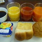 ホテルオークスアーリーバード大阪森ノ宮 - 日曜朝の朝食サービス