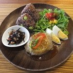 タヒチアン ノニ カフェ - 和風ハンバーグプレート