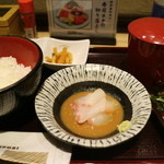 築地寿司清 - 鯛胡麻だれ定食