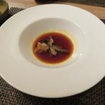 東京チャイニーズ 一凛 - 上海蟹の紹興酒漬け、柚子の香り2