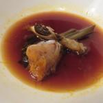 東京チャイニーズ 一凛 - 上海蟹の紹興酒漬け、柚子の香り1