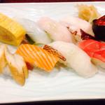 居酒屋 いっぷく - ☆握り寿司盛り合わせ‼︎美味‼︎☆