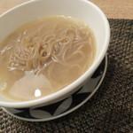 東京チャイニーズ 一凛 - 根室牛蒡の麺と金ぴら牛蒡2