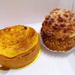 エデュー - 料理写真:タルトフロマージュ、シュークリーム