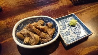 石橋うなぎ店 - ゆがき(肝の塩ゆで)430円