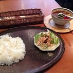 沙羅 - 沙羅の週替りのランチカレー750円(14.09)