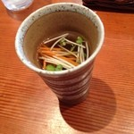 沙羅 - 沙羅の週替りのランチカレーのスープ(14.09)