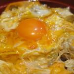 鎌倉 鶏味座 - 究極の親子丼アップ