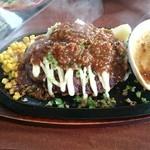 ベリーベリーファーム上田 レストラン - ハンバーグ 味噌マヨソース