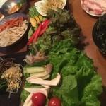 韓のおしり - 包み野菜