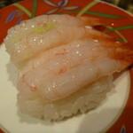 廻鮮寿司 すし松 - 料理写真:甘エビ