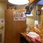 Sasakiya - 味の濃さ、油の量、麺の硬さが選べるのは○