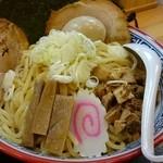 三代目 藤村商店 - 三枚肉つけ麺大盛880円+味たま100円
