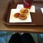 ブルックスショップアンドカフェ - ハロウィンの今は、カボチャ入り! カボチャの味が甘過ぎずとても美味しく お土産に買って帰りました!