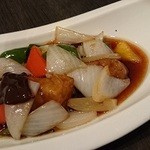 中国料理 桃翠 - あぐ~豚の酢豚