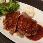 中国料理 桃翠 - 牛肉の中華風ステーキ