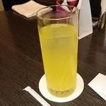 中国料理 桃翠 - ヒアルロン酸入りシークワーサージュース
