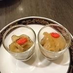 中国料理 桃翠 - クラゲと県産モズクの酢の物