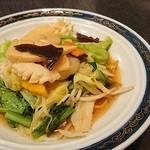 中国料理 桃翠 - 海鮮あんかけ焼きそば