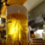 イタリアン酒場 ジモン - 生ビール中¥480