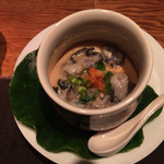 42655829 - 牡蠣の茶碗蒸し