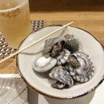 そ乃田 - オールフリーと貝類「ながらみ」