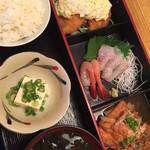 旬魚旬菜 びんびや - 日替りランチセット