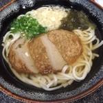 食い亭 - すりみ揚うどん600円(税込)