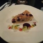 コーヒーハウス葡萄畑 - ケーキセットのケーキです。(ダブルベリーです)