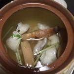 平家 - 松茸と鱧の土瓶蒸し!1000円!