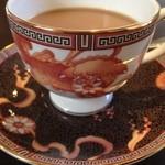 Kokage coffee - 珍しいCHINA柄☆