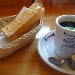 コメダ珈琲店 - ブレンドコーヒーとモーニングセット