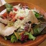 PIZZA SALVATORE CUOMO - サラダ