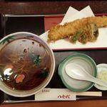 42661335 - あなご天ぷら蕎麦