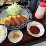 umichikashokudou - うみちか食堂(ポーク玉子定食)