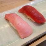 築地 寿司岩 - 中トロ赤身