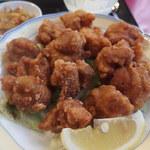 42664583 - 鶏の唐揚げ定食:ランチ750円