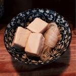 ぼんそわ - 高野豆腐の煮物