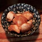 ぼんそわ - 鶏肉甘辛和え
