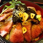 ごちそうお肉ビストロ くう海 - 本気丼