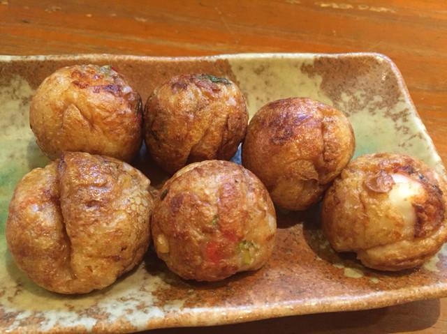 龍馬亭 - ネギ醤油たこ焼き