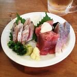 ひなた - 鮮魚二点盛り