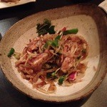 鳥焼 グレゴリー - 鶏タタキサラダ