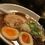 札幌 Fuji屋 - 2014 #321@豚ソバ醤油+味玉¥850
